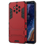 Slim Armour Tough Shockproof Case for Nokia 9 PureView - Red